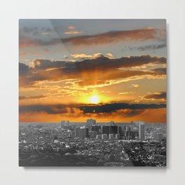 City Skyline #2 Metal Print