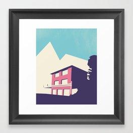 HEMMINGWAY Framed Art Print