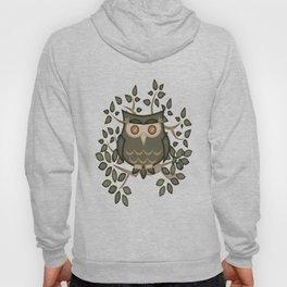 The Wise Old Owl .. fantasy bird Hoody