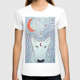 The dog and the moon T-shirt