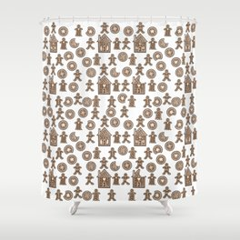 Gingerbread IV Shower Curtain