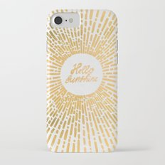 Hello Sunshine Gold iPhone 7 Slim Case