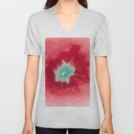 "Hilma af Klint ""On the Viewing of Flowers and Trees - Untitled"" (1920) Unisex V-Neck"