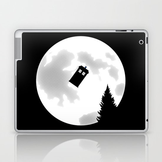 Dr Phone Home Laptop & iPad Skin