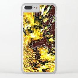 Block Comp Clear iPhone Case