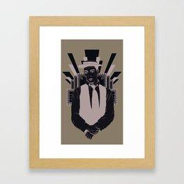 Presenting BUSTER KEATON Framed Art Print