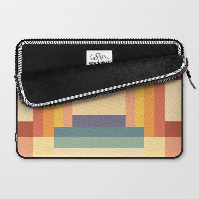 Soft Color Pattern Laptop Sleeve