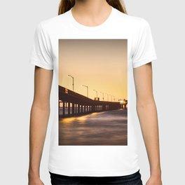 Street Lights on The Pier T-shirt