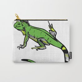 Rainforest Collection - Iguana Carry-All Pouch