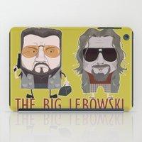 lebowski iPad Cases featuring The Big Lebowski by Francesco Dibattista
