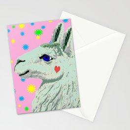 Lucky Llama Stationery Cards