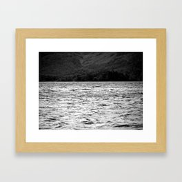 Dancing on the water Framed Art Print