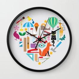 Heart It Wall Clock