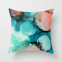 Ink painting Throw Pillow