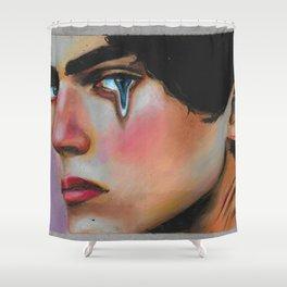 Human2 Shower Curtain
