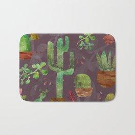 Cozy Cactus Bath Mat