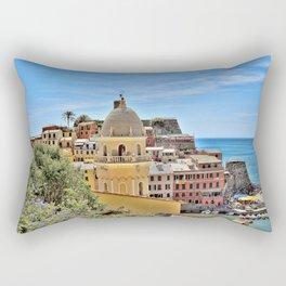 Cinque Terre Gem Rectangular Pillow