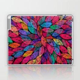Abstract Colorful leaves III Laptop & iPad Skin