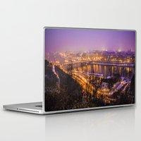 prague Laptop & iPad Skins featuring Prague 1 by Veronika