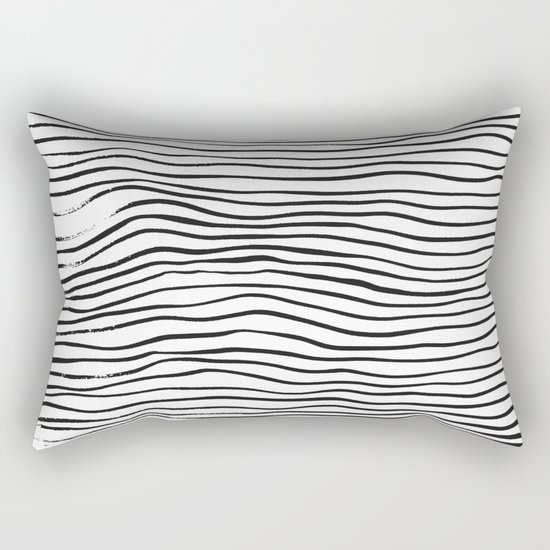 minimal movement - invert Rectangular Pillow