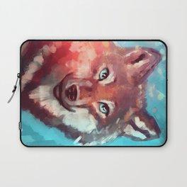 Wolf - Stare - Wanderlust Laptop Sleeve
