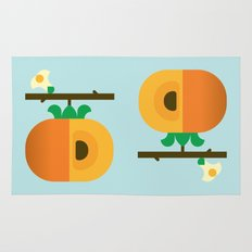 Fruit: Persimmon Rug