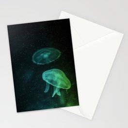 Sea Jelly Stationery Cards