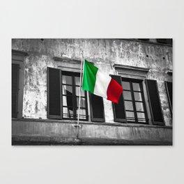 Italian Pride Canvas Print