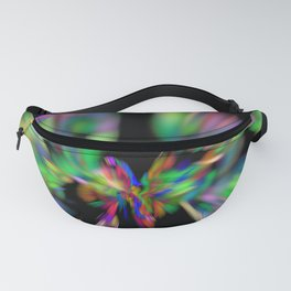 Rainbow colors Fanny Pack