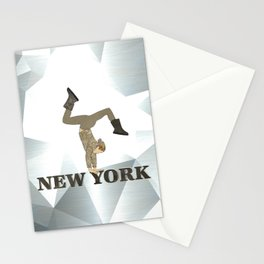 Gymnastics New York Stationery Cards