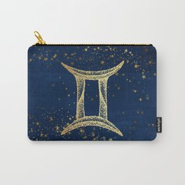 Gemini Zodiac Sign Carry-All Pouch