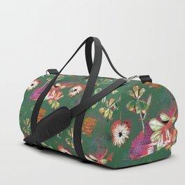 Affaire Foliare (Green) Duffle Bag