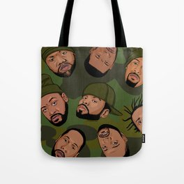 Rappers Camo by turbobambi Tote Bag