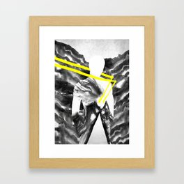 Peter and the Wolf Framed Art Print