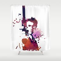 harry Shower Curtains featuring Harry by BIG Colours