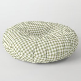 Farmhouse Style Gingham Check Floor Pillow
