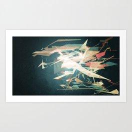 Wipeout Art Print