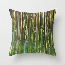 Sun on Morning Marsh Throw Pillow