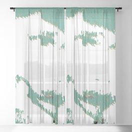 man Sheer Curtain