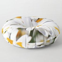 Daisy Flowers 0136 Floor Pillow