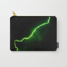 Chartreuse Lightning Carry-All Pouch