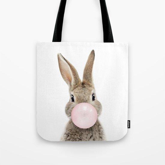 Bubble Gum Bunny by amypetersonartstudio
