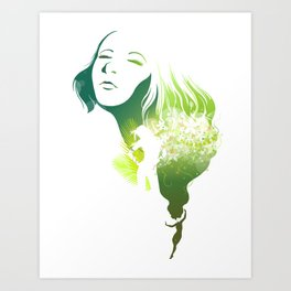 The Summer Art Print