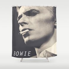 Bowie V Shower Curtain