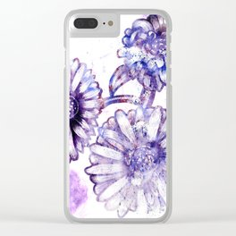 Flowers V.3 Clear iPhone Case