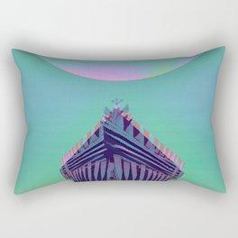 Surfing The Big Wave Searching Mermaids Rectangular Pillow