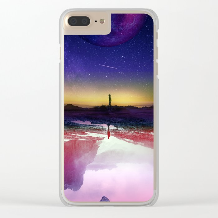Passengers Clear iPhone Case