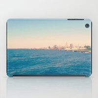 cleveland iPad Cases featuring Cleveland Skyline  by Julia Blanchette