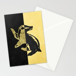 Hufflepuff Stationery Cards
