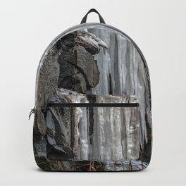 Frozen Waterfall Backpack
